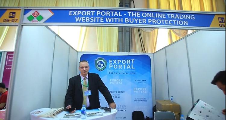 Exportportal besucht World Trade Center, Vietnam Expo